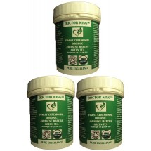 PACK OF 3 of DOCTOR KING® Finest Ceremonial Grade Organic Japanese Matcha Green Tea (Ceremonial Grade A) - Net Weight. 30g