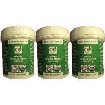 PACK OF 3 of DOCTOR KING® Organic Japanese Matcha Green Tea (Premium Grade) - Net Weight 30g
