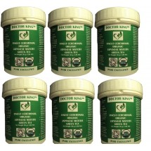 PACK OF 6 of DOCTOR KING™ Finest Ceremonial Organic Japanese Matcha Green Tea (SUPER Green Tea) 30 grams (£15.50 per item)