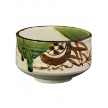 DOCTOR KING Authentic Handcrafted Japanese Matcha Tea Bowl - Popular Mino-Yaki Teaware - Made in Japan