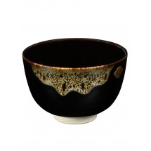 DOCTOR KING Authentic Handcrafted Japanese Matcha Tea Bowl - Kiyozumi-Yaki - Made in Japan