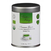DOCTOR KING® Organic Japanese Matcha Green Tea | Premium Grade | Net Weight 30 g | Boxed