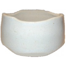 Japanese Chawan (Matcha Bowl) - White (Glazed)