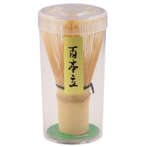DOCTOR KING Authentic, Handcrafted, Chinese Bamboo Matcha Tea Whisk - 120 Prongs/120 Pondate/Fine Strands of Bamboo - Made in China