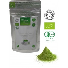 DOCTOR KING Ceremonial Grade Organic Japanese Matcha Green Tea | First (Spring) Harvest | Made in Japan | Net weight 30 g