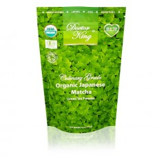 DOCTOR KING Organic Japanese Matcha Green Tea | Culinary Grade | Net Weight 4 oz (114 g) | Available in the USA ONLY