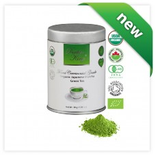 DOCTOR KING Finest Ceremonial Grade Organic Japanese Matcha Green Tea | Top Grade: Ceremonial Grade A | Variety: Saikō 最高 Japanese for Supreme | First Harvest Matcha | Specialty Tea | Artisan Matcha | Ultimate Super Green Tea | Made in Japan | Net Wt 30 g