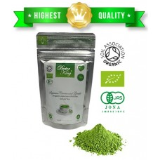 DOCTOR KING Supreme Ceremonial Grade Organic Japanese Matcha Green Tea | Top Grade: Ceremonial Grade AAA | First Harvest Matcha | Artisan Matcha | Grown and Made in Japan | Net Weight 30 g (30 servings)