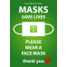 DOCTOR KING Protective Face Masks | 100 Single Use Masks | Face Coverings | High Quality | 3 Layers of Protection | High Efficiency Microfilter: BFE Bacterial Filtration Efficiency 99% | Great For Daily Use
